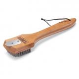 Щетка с бамбуковой ручкой 30 см